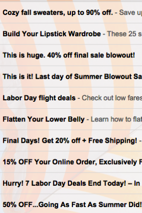 Labor Day Promotions!