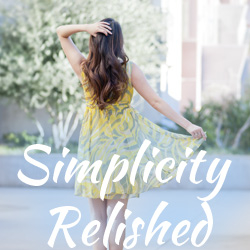 Simplicity Relished