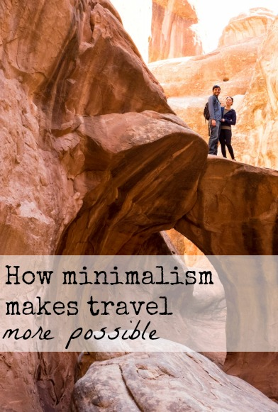 How do we manage to travel as much as we do Minimalism is key to making travel more possible