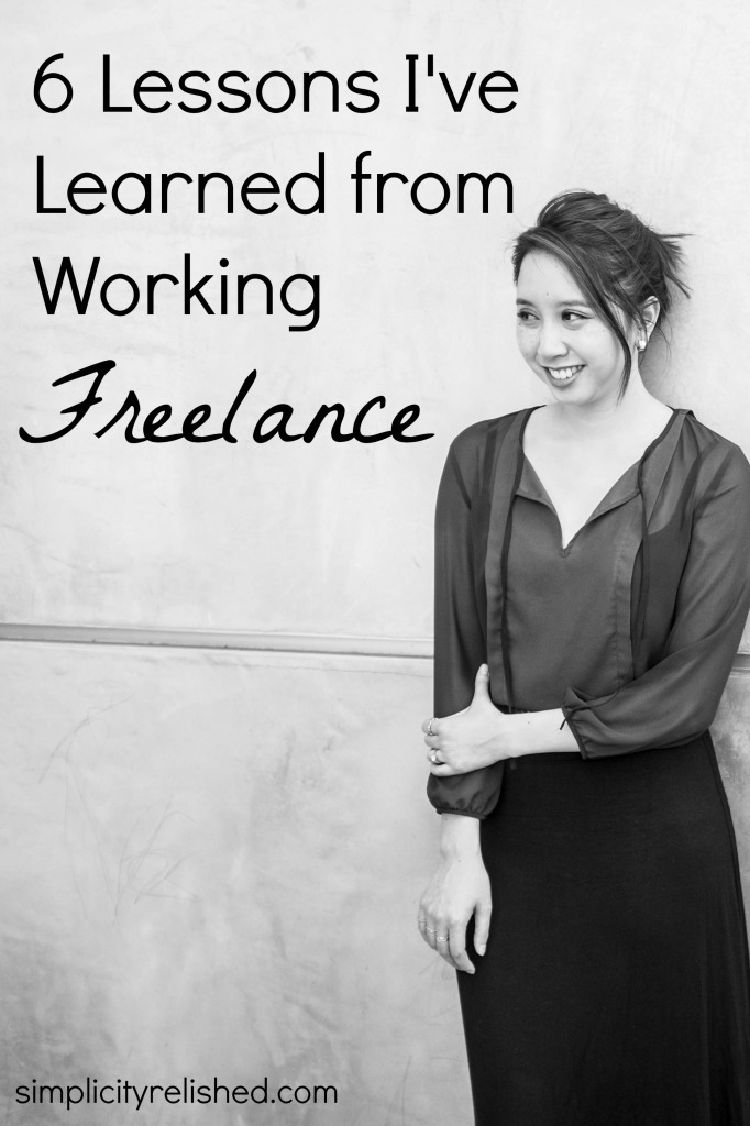 Lessons I've learned about working freelance #smallbiz #biztips