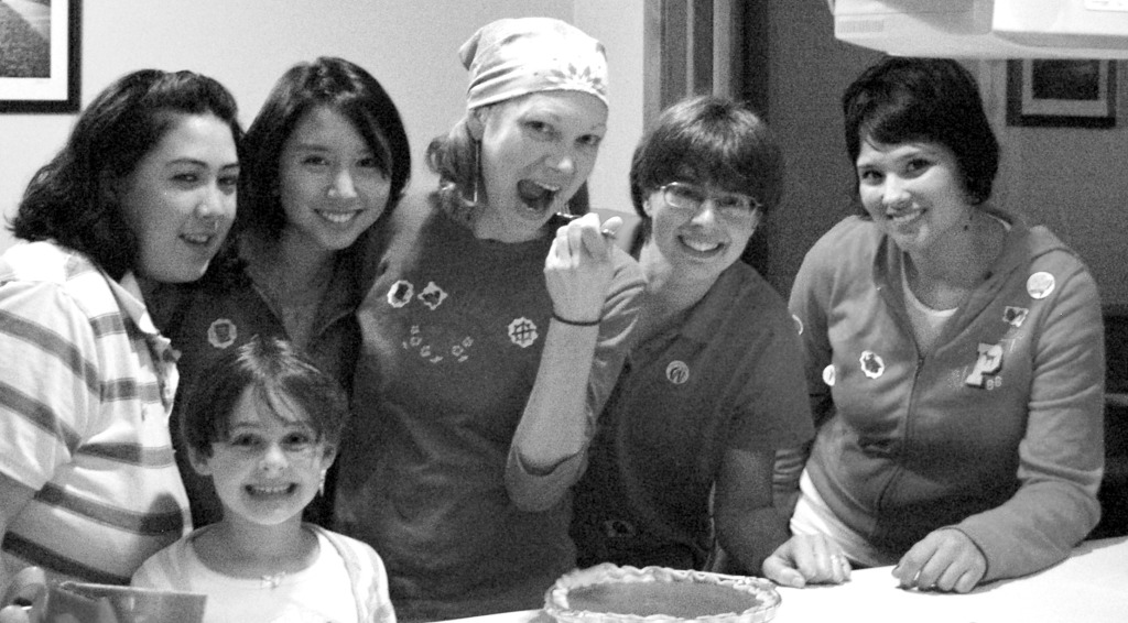 Baking our contest-winning Thanksgiving apple pie!