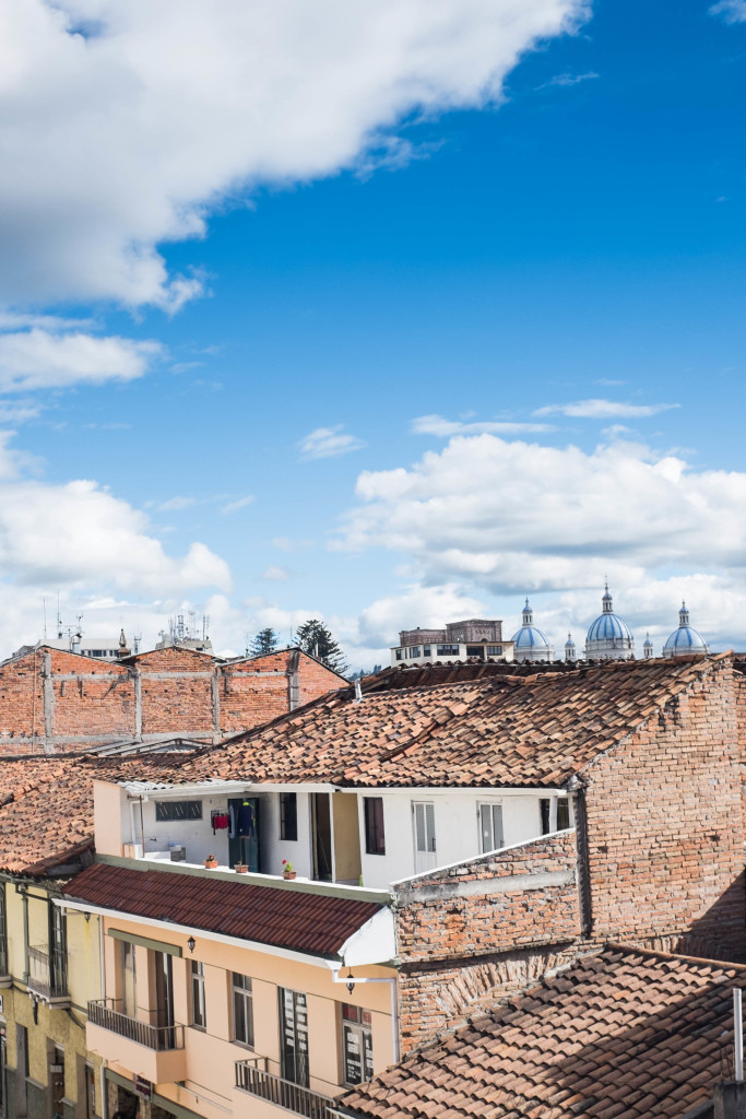10 Best Snapshots From Ecuador - cuenca rooftop
