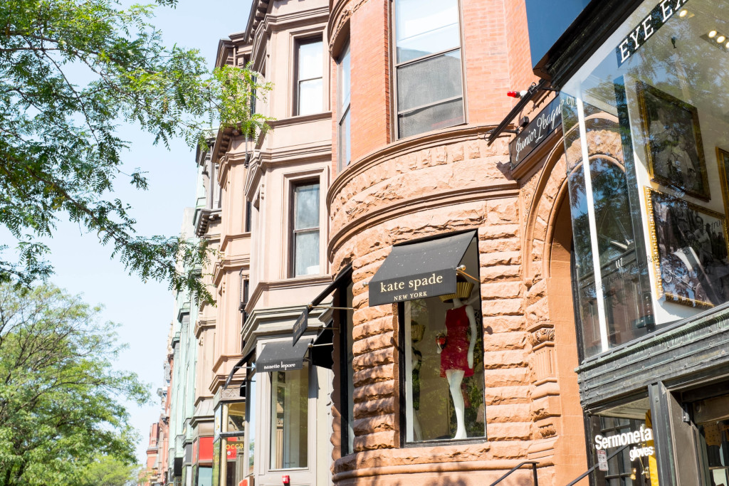Boston: a walking tour - Newbury Street