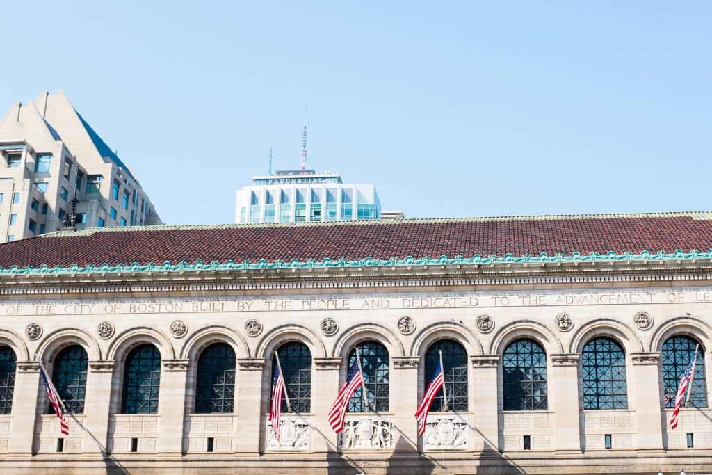 Boston: a walking tour through the historic neighborhood - BPL