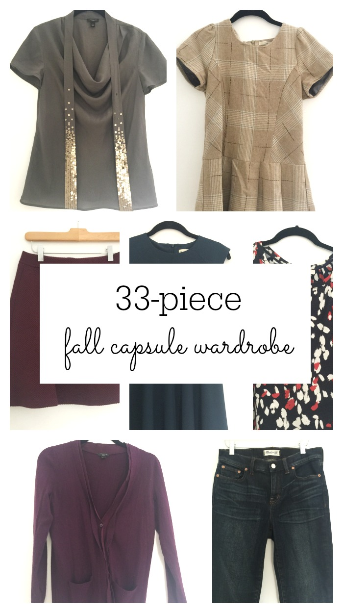 Fall capsule wardrobe- 33 essential pieces for your fall capsule