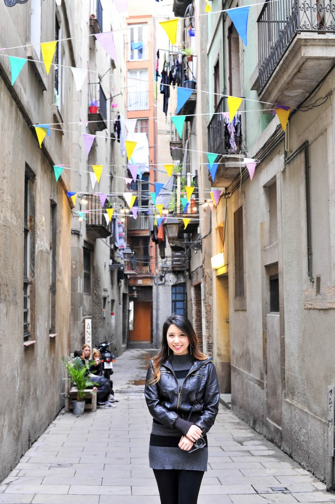 gothic quarter flags