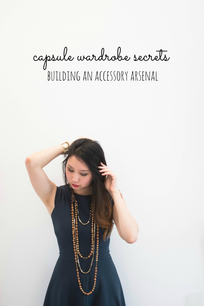 Capsule wardrobe secrets- how to build an accessory arsenal and wear the same clothes over and over again