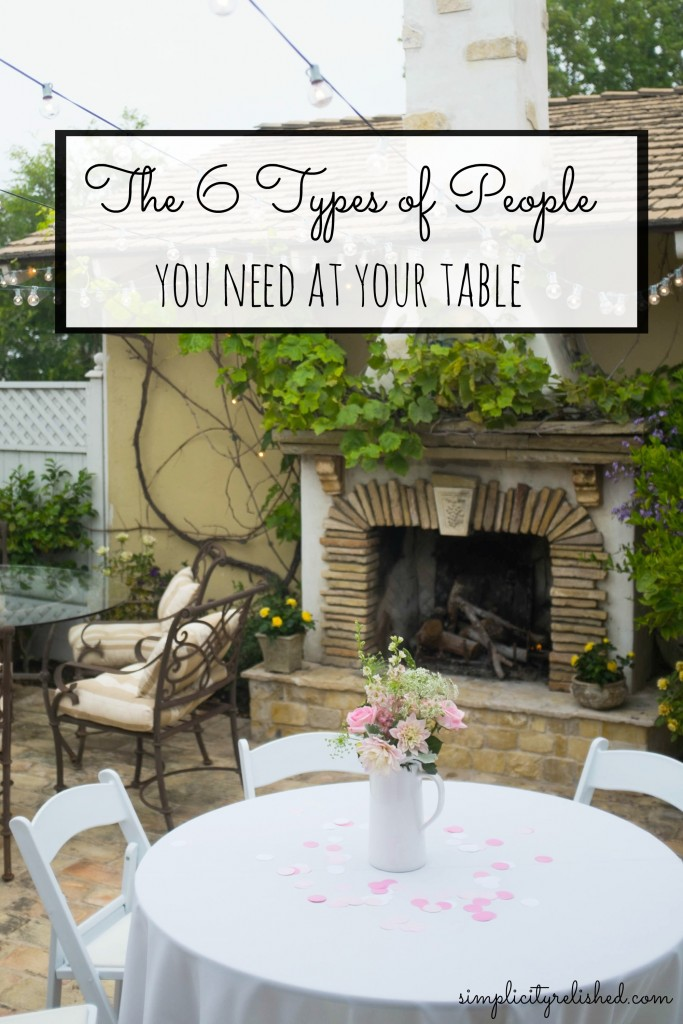 6 types of people you need at your table- who to invite into your inner circle