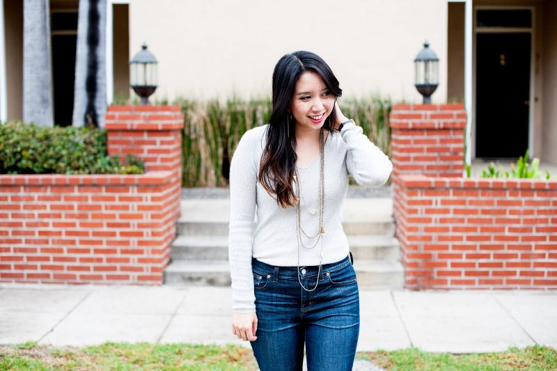 How To Dress Up Your Favorite Old Sweater