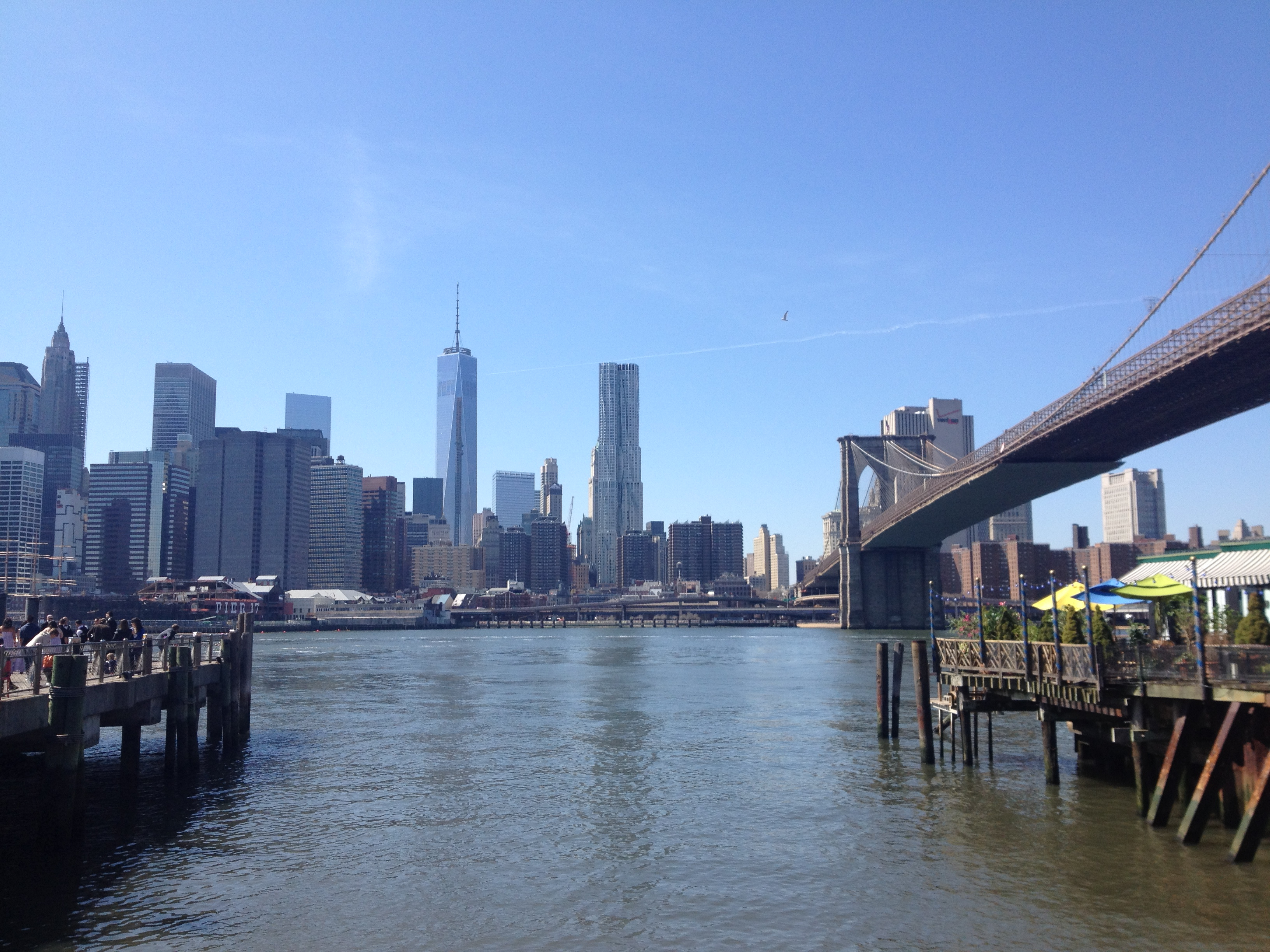 Manhattan Skyline from Dumbo, Brooklyn, NY