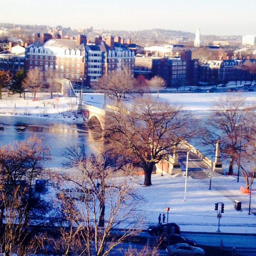 Cambridge in late winter