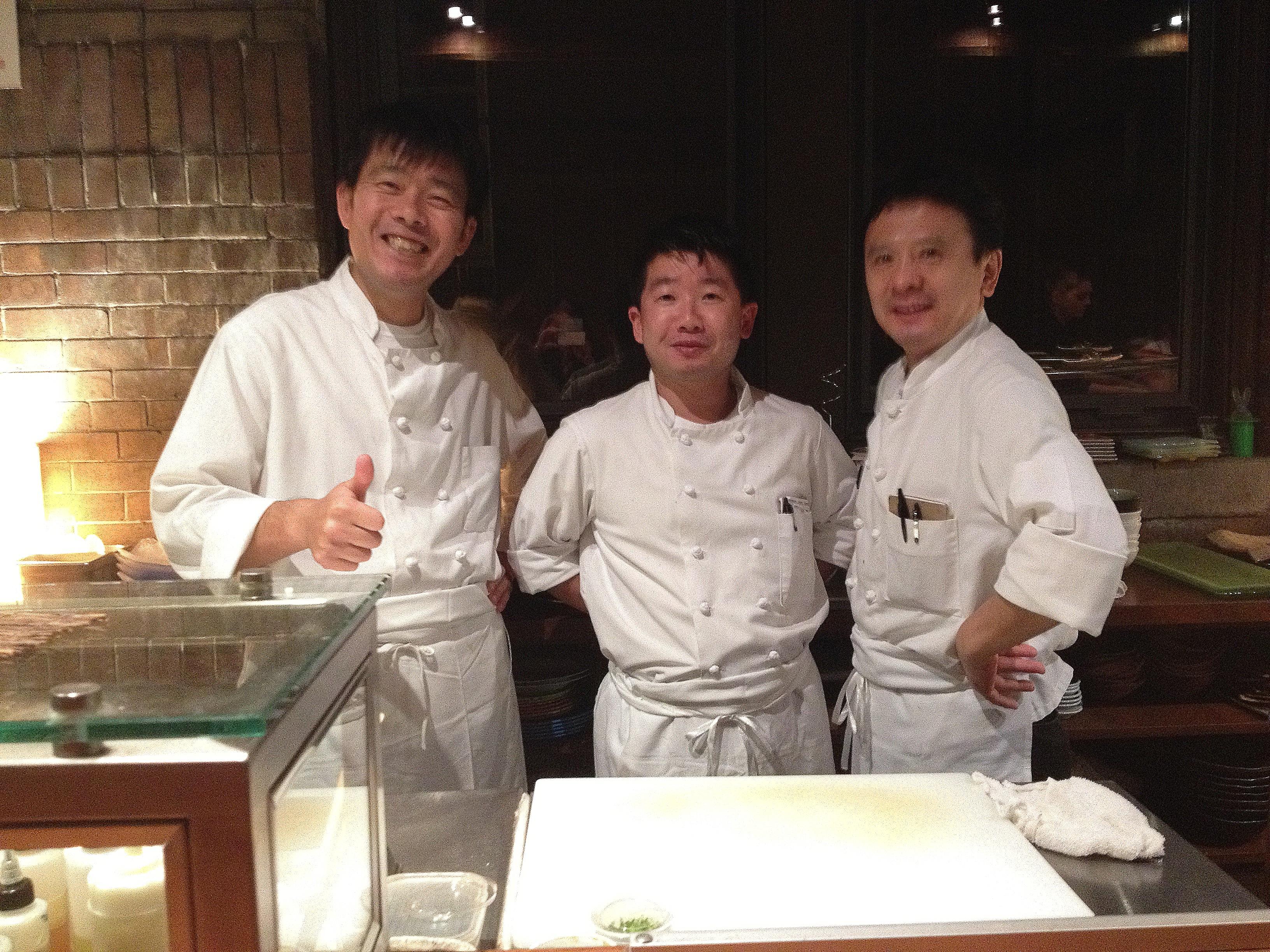 Three talented chefs!