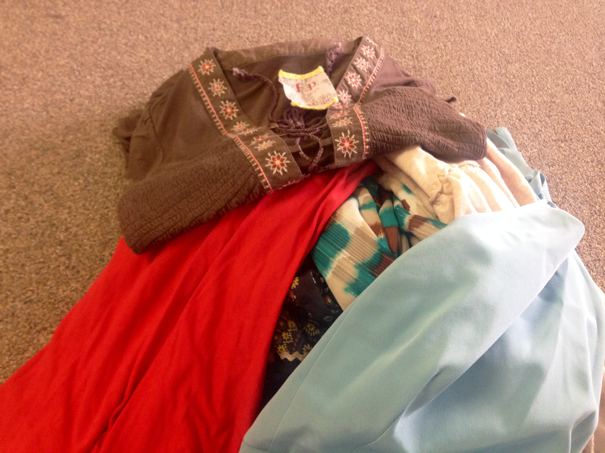 Gently-used clothes that need a new home