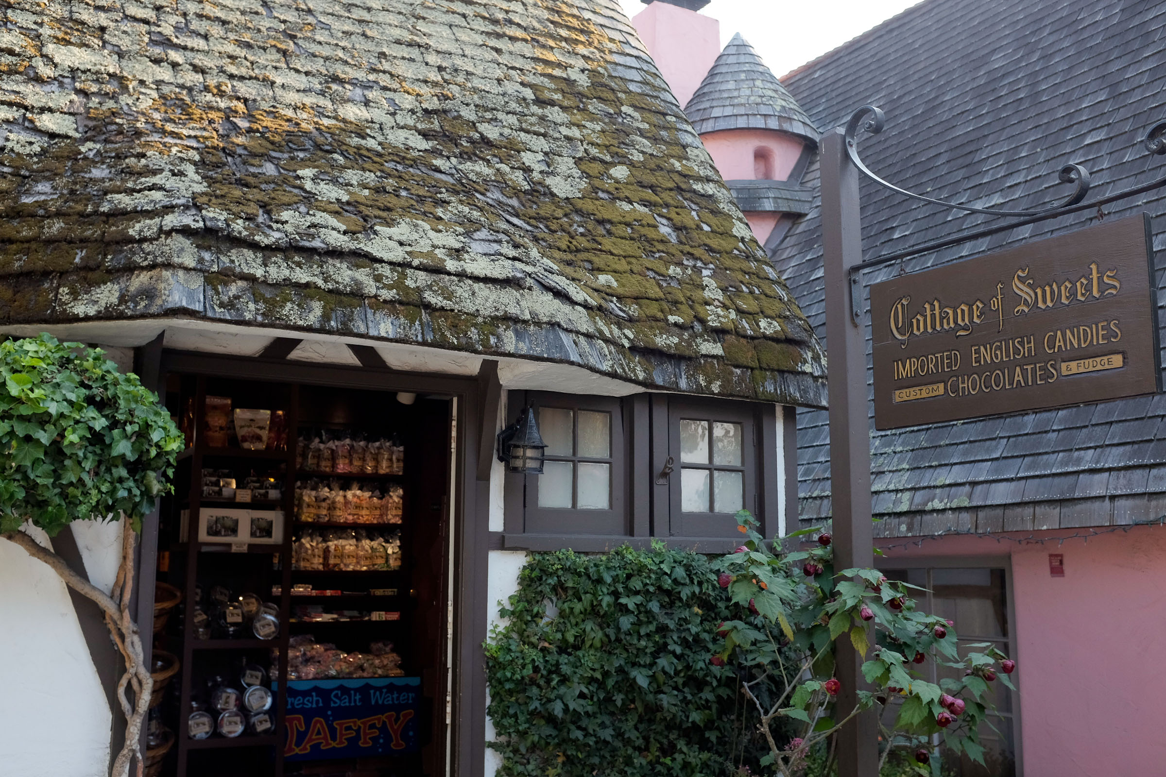 The Cottage of Sweets; home of the best dark chocolate almond turtles!