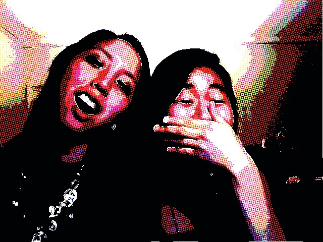 Eventually my room mate and I figured out how to use a webcam...