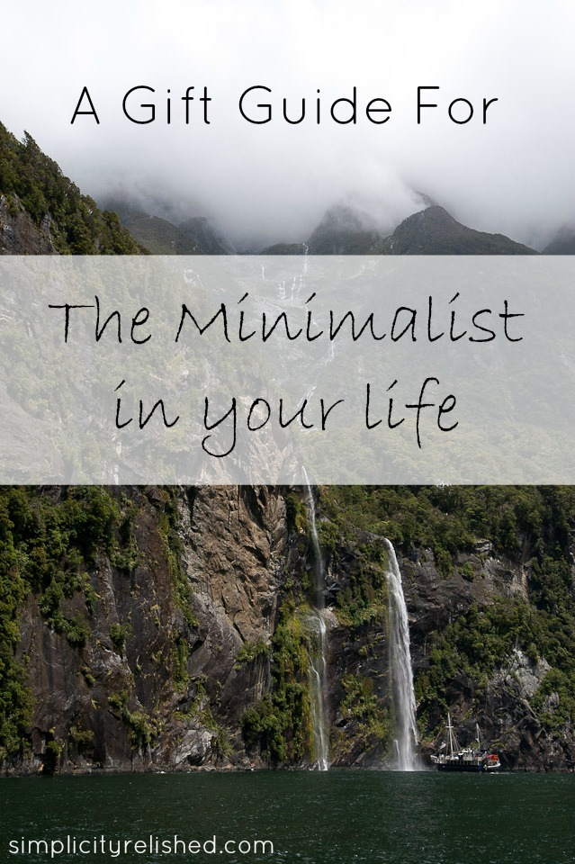 Gift Guide For The Minimalist - Simplicity Relished