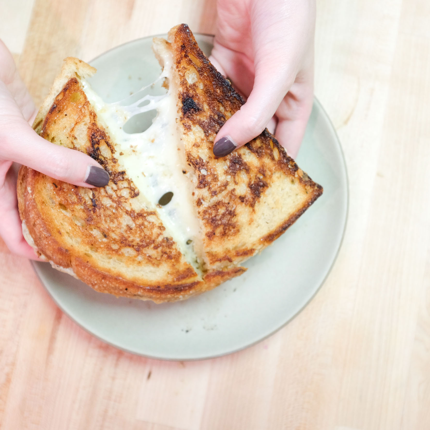 The Best Grilled Cheese 4