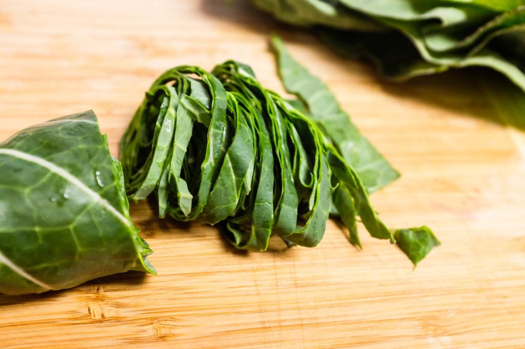 Collard Greens Salad
