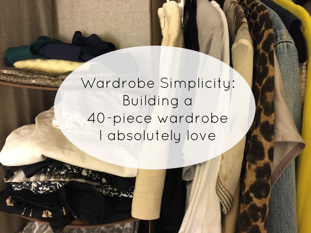 Capsule Wardrobe title photo