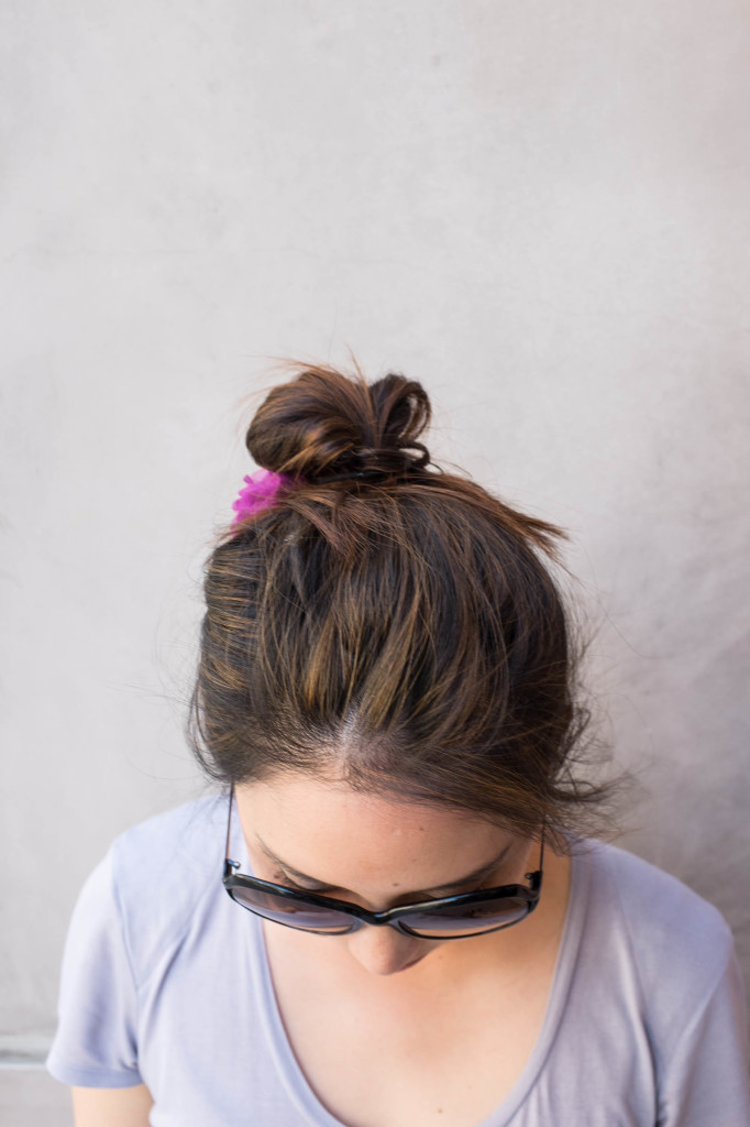 Quick and simple messy bun secrets