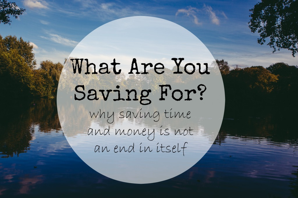 What are you saving for #minimalism