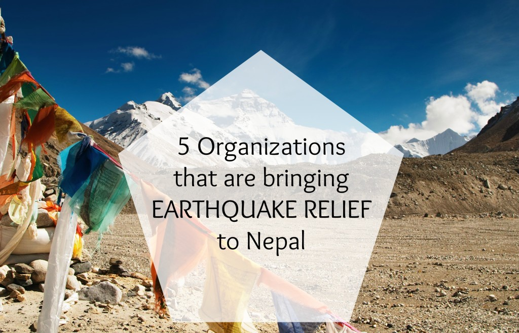 NEPAL EARTHQUAKE RELIEF