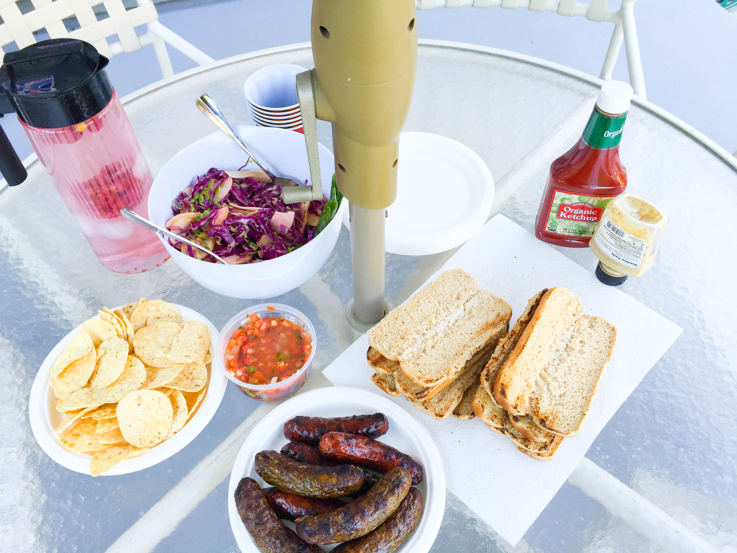 Simple Spring BBQ Menu (& a few tips on stress-free hosting)