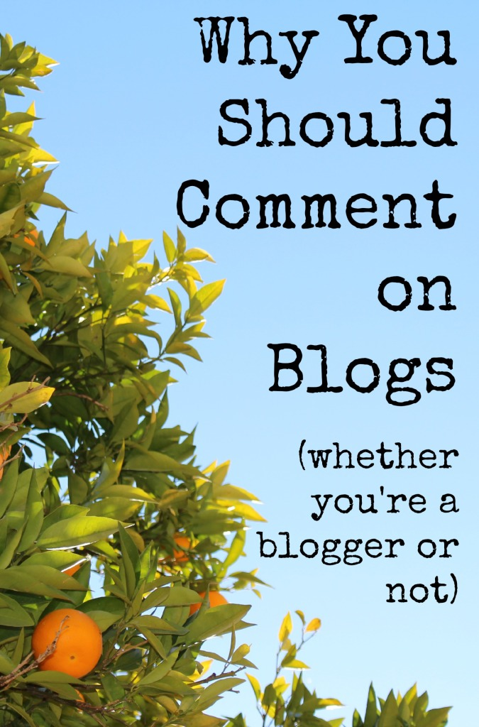 Why You Should Comment On Blogs