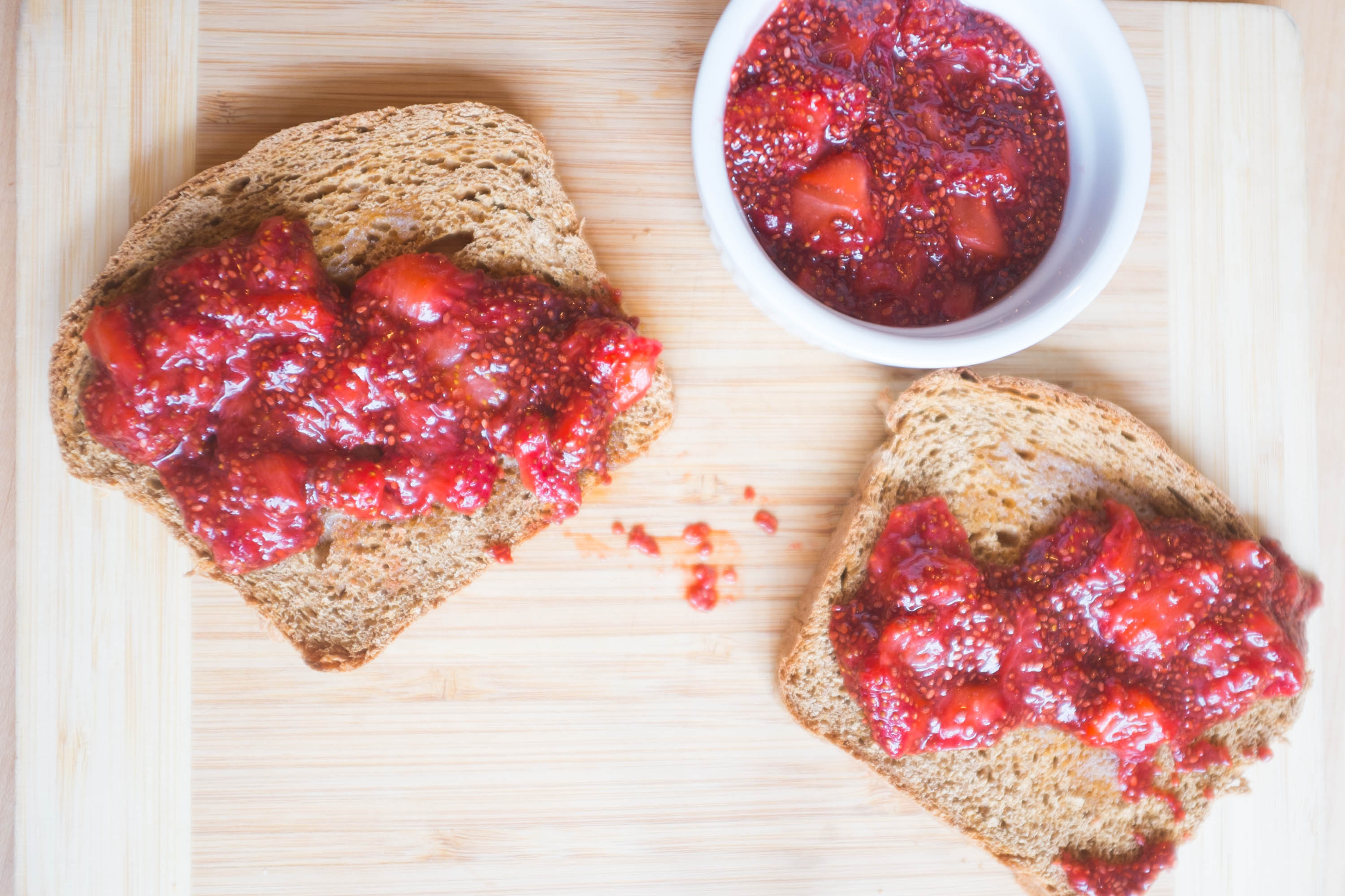 Strawberry Lime Chia Seed Jam