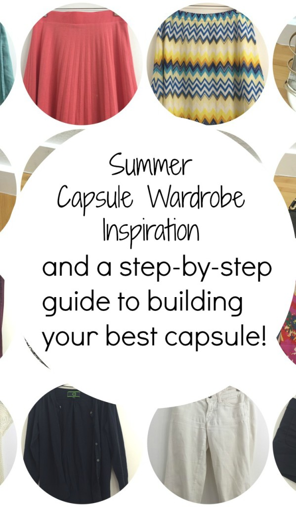 Summer Capsule Wardrobe Inspiration and a guide to build yours!