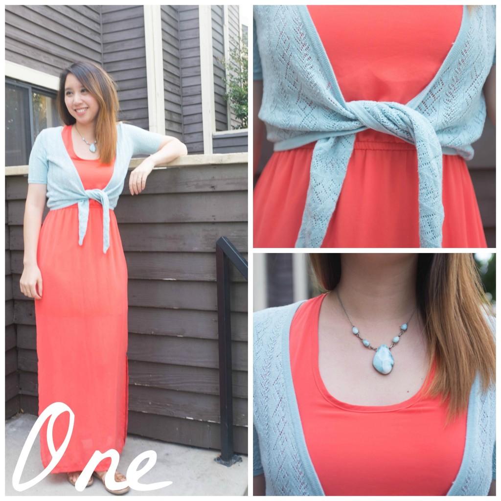 Summer Capsule Week 1 Outfit 1
