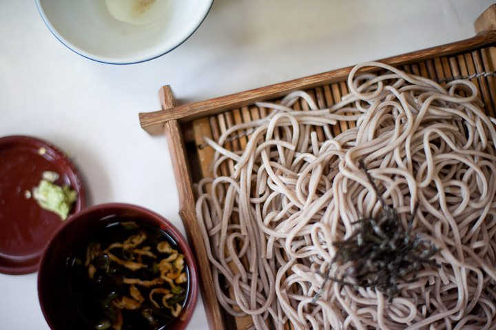 soba noodles // by aaron