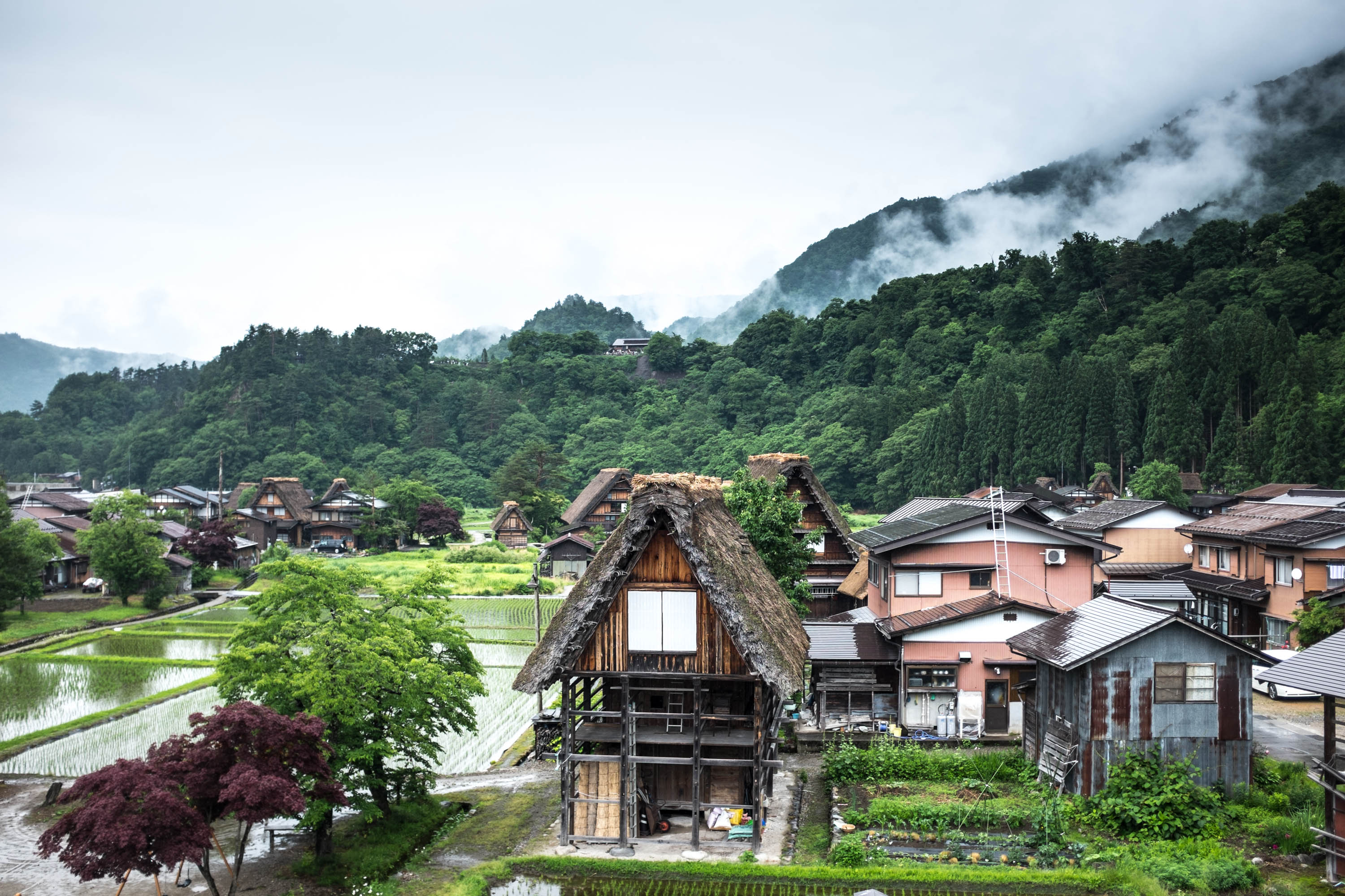 Japanese Charm: Countryside Villages, Shops and Gardens Galore!