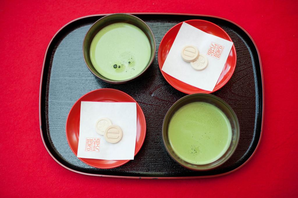 Silver Pavilion Tea, Kyoto