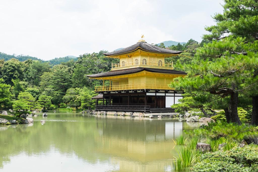 Kinkakuji Golden Pavilion in Kyoto