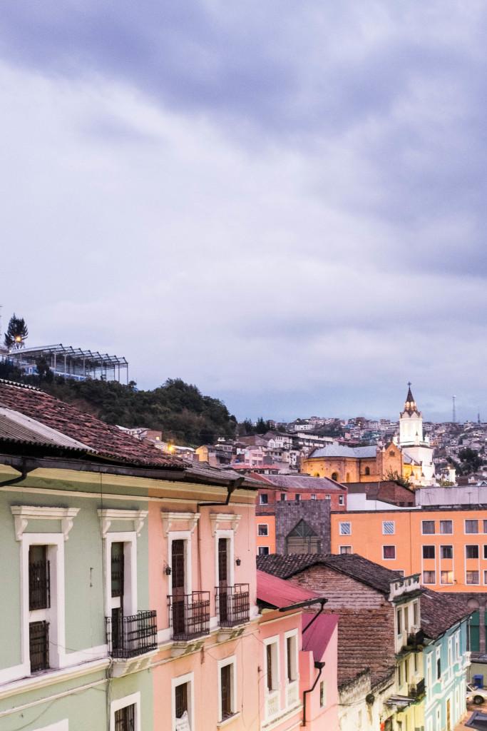 Our neighborhood in Quito, Ecuador