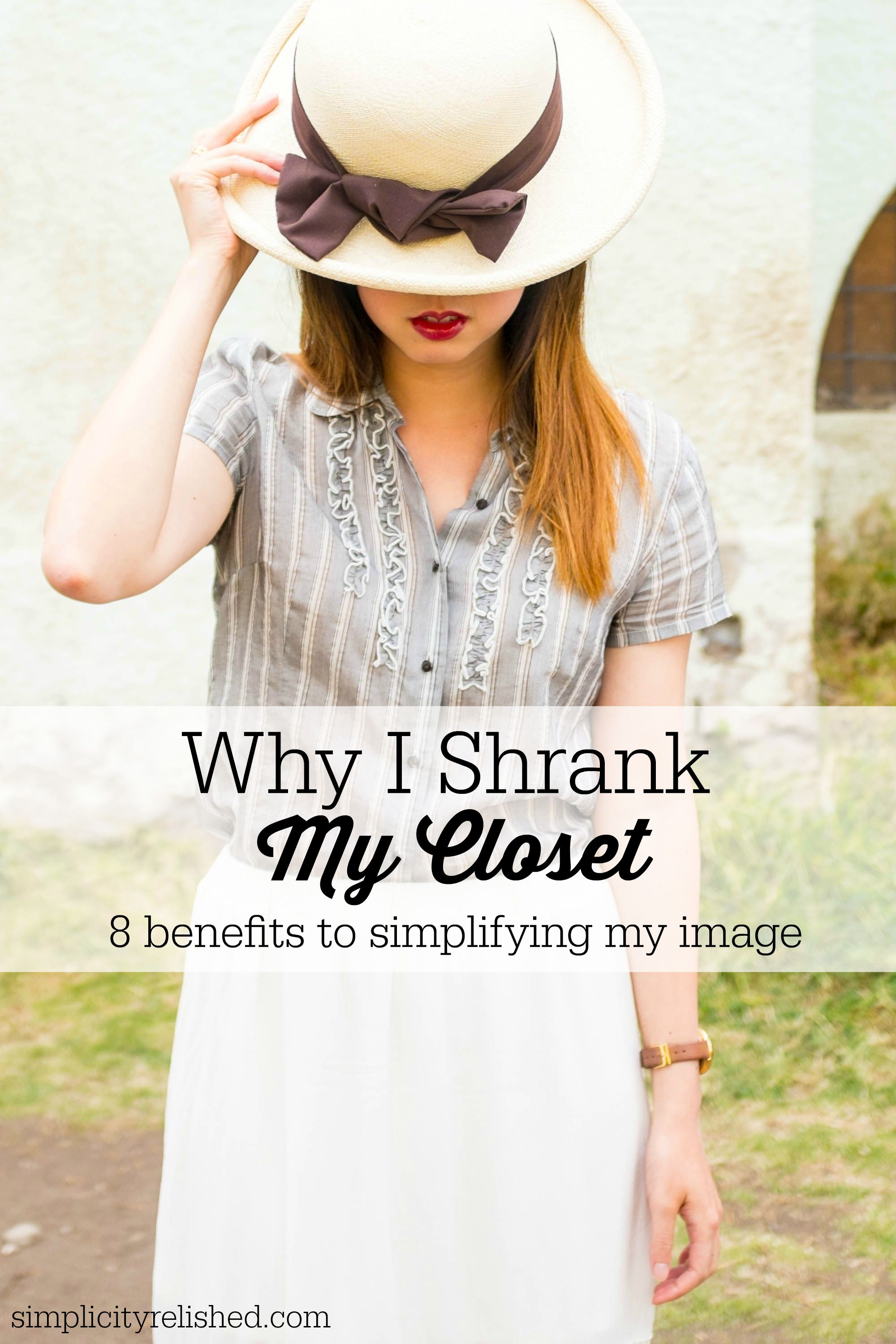 Why I Shrank My Closet (and quit obsessing over my image ...