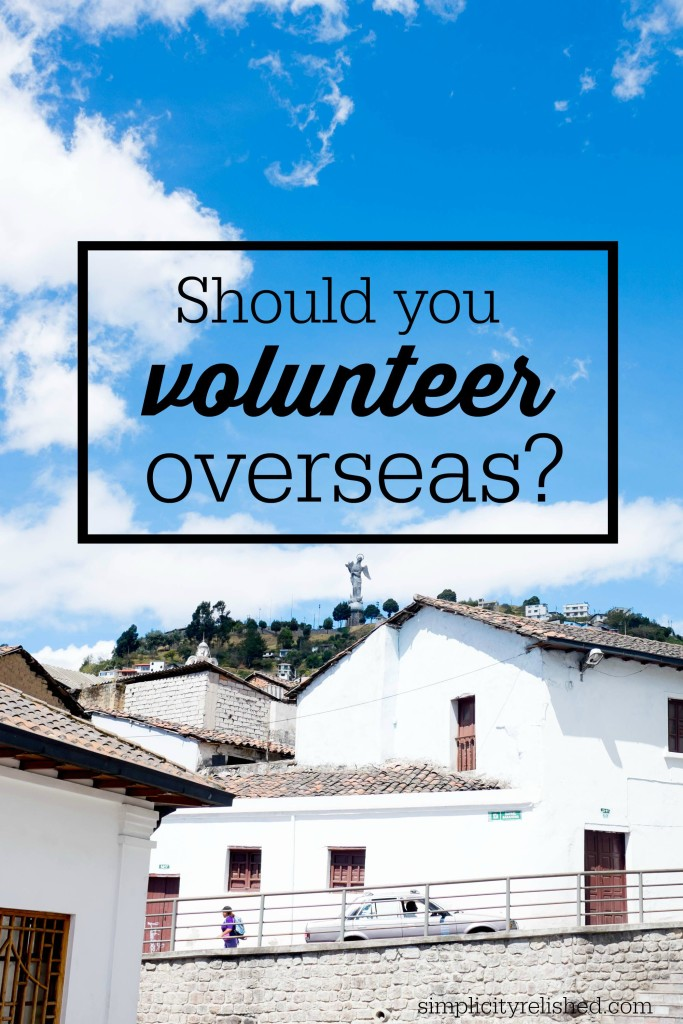6 questions to ask before volunteering overseas