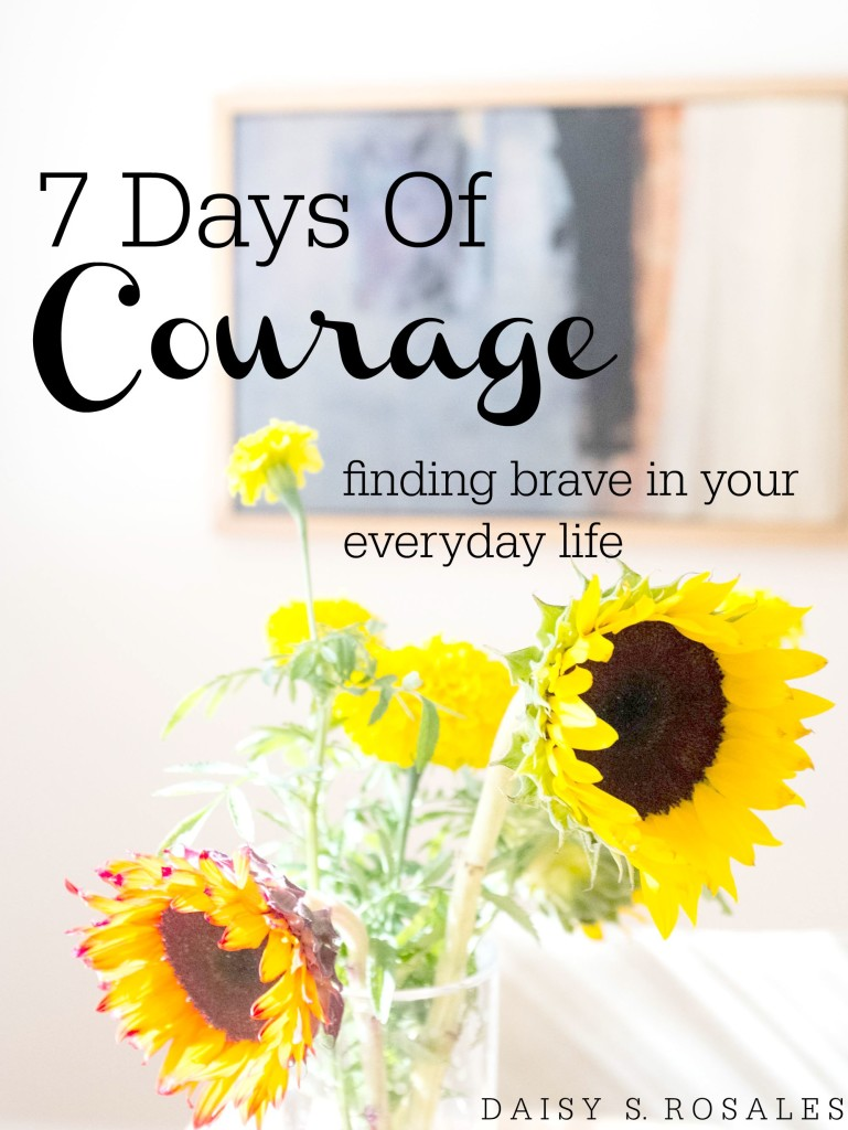 7 DAYS OF COURAGE COVER