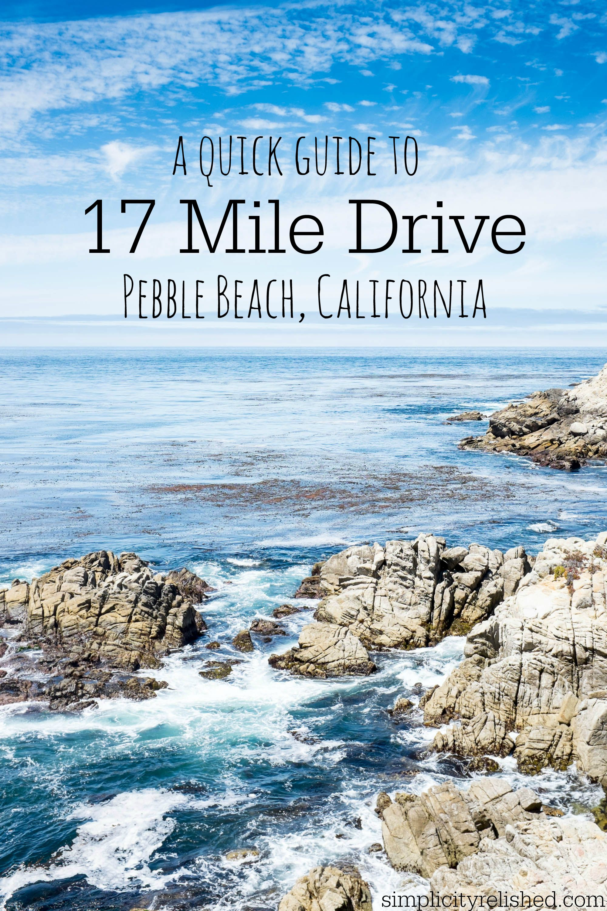 17 Mile Drive Map Pdf A Quick Guide To 17 Mile Drive in Pebble Beach, California
