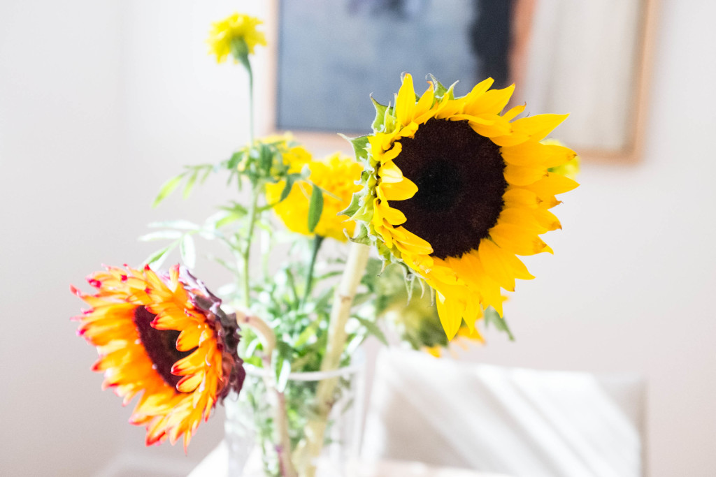 Decorate on a budget - flowers