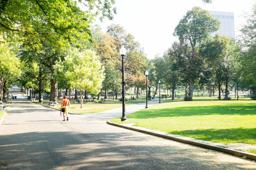 A self-guided walking tour in Boston- Boston Common