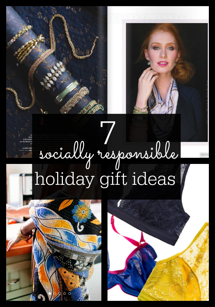 Give impact- 7 socially responsible gift ideas