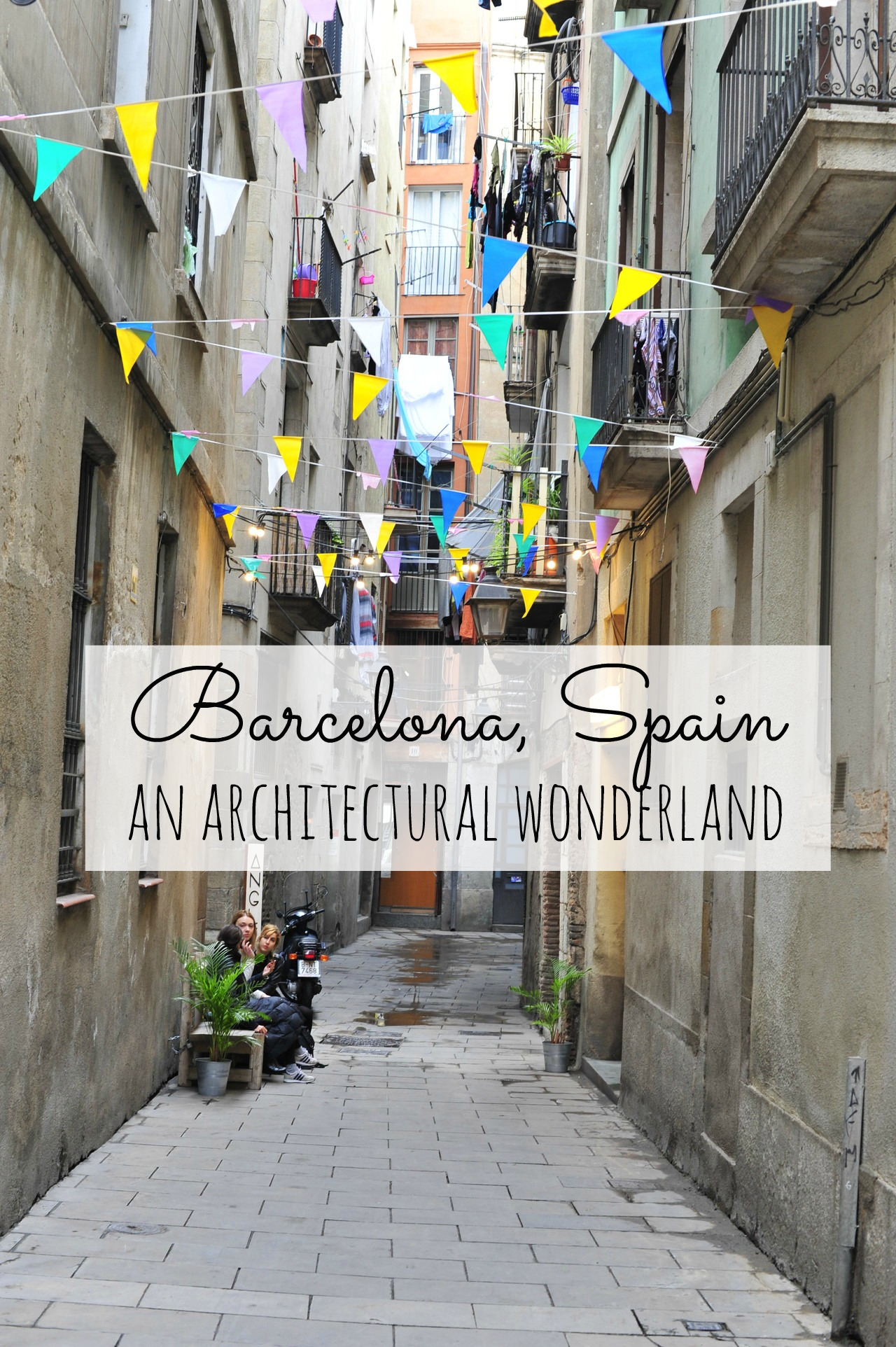 Barcelona spain- an architectural wonderland