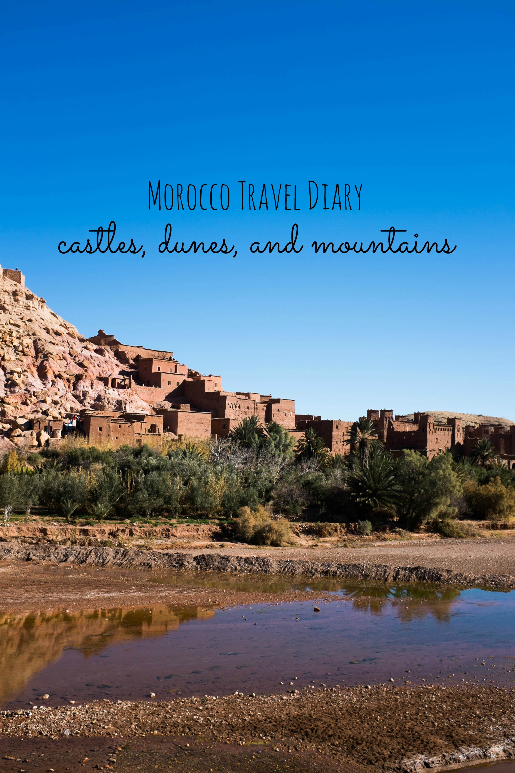 Journey into Morocco- the Sahara desert and surrounding scenes