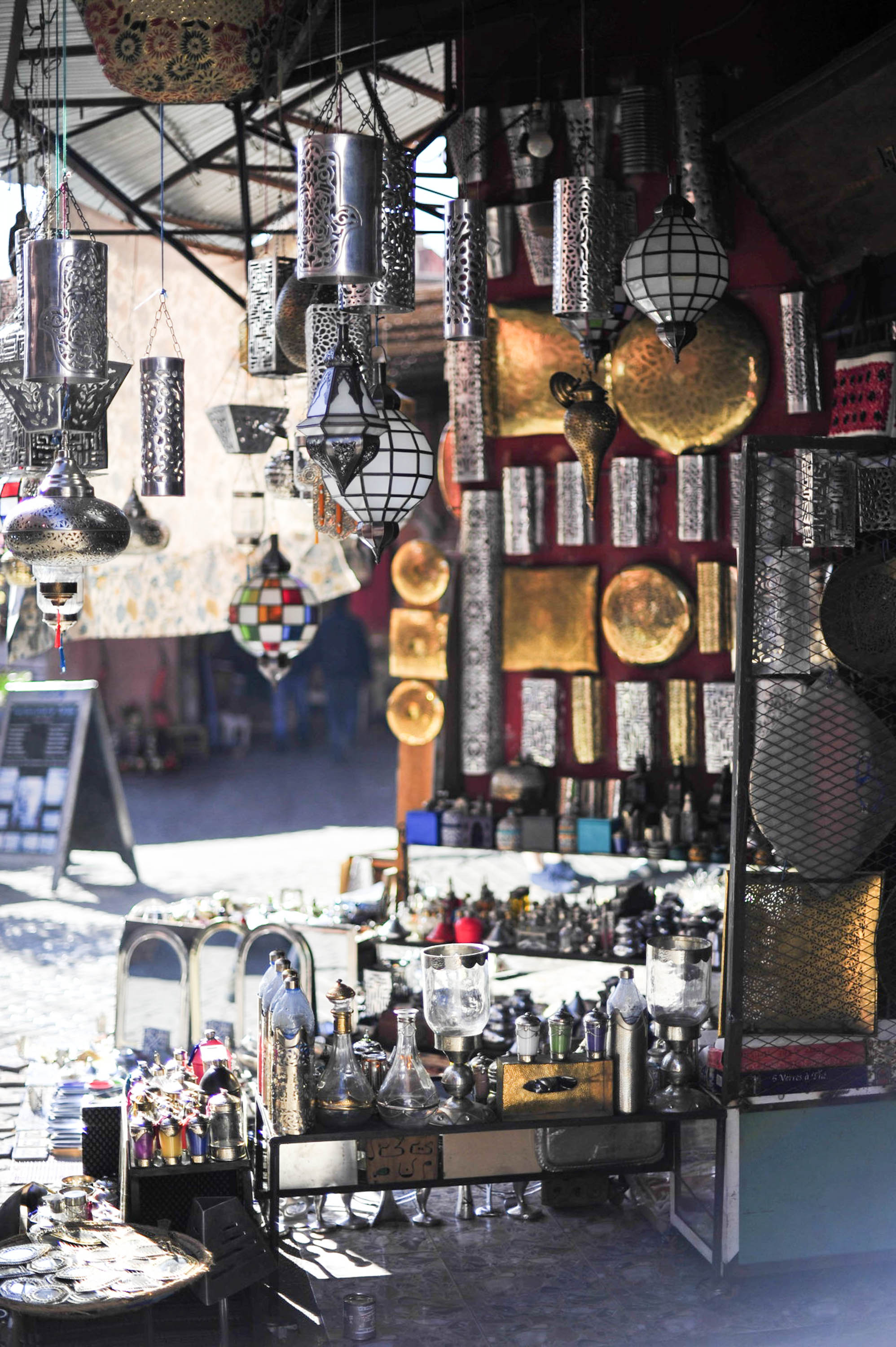 Lanterns in the souks | Marrakech: a quick guide