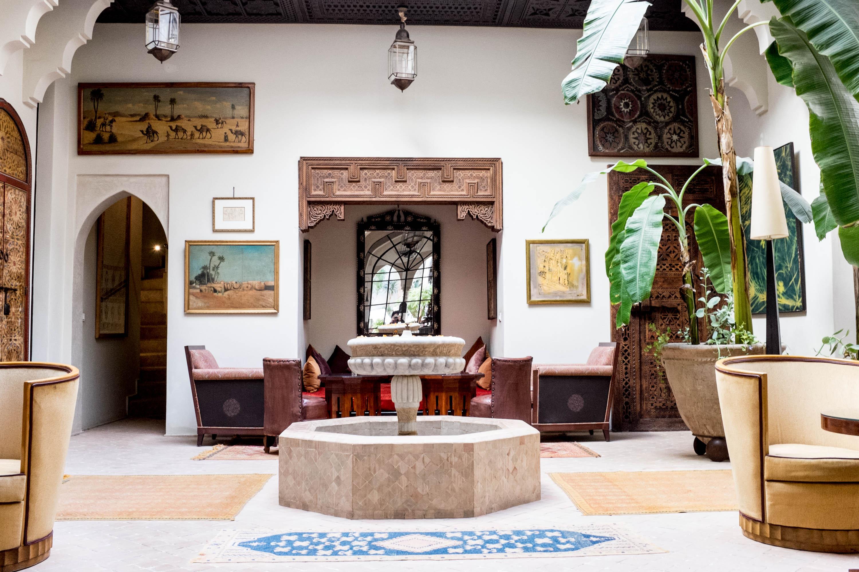 Marrakech Morocco - Palais Khum