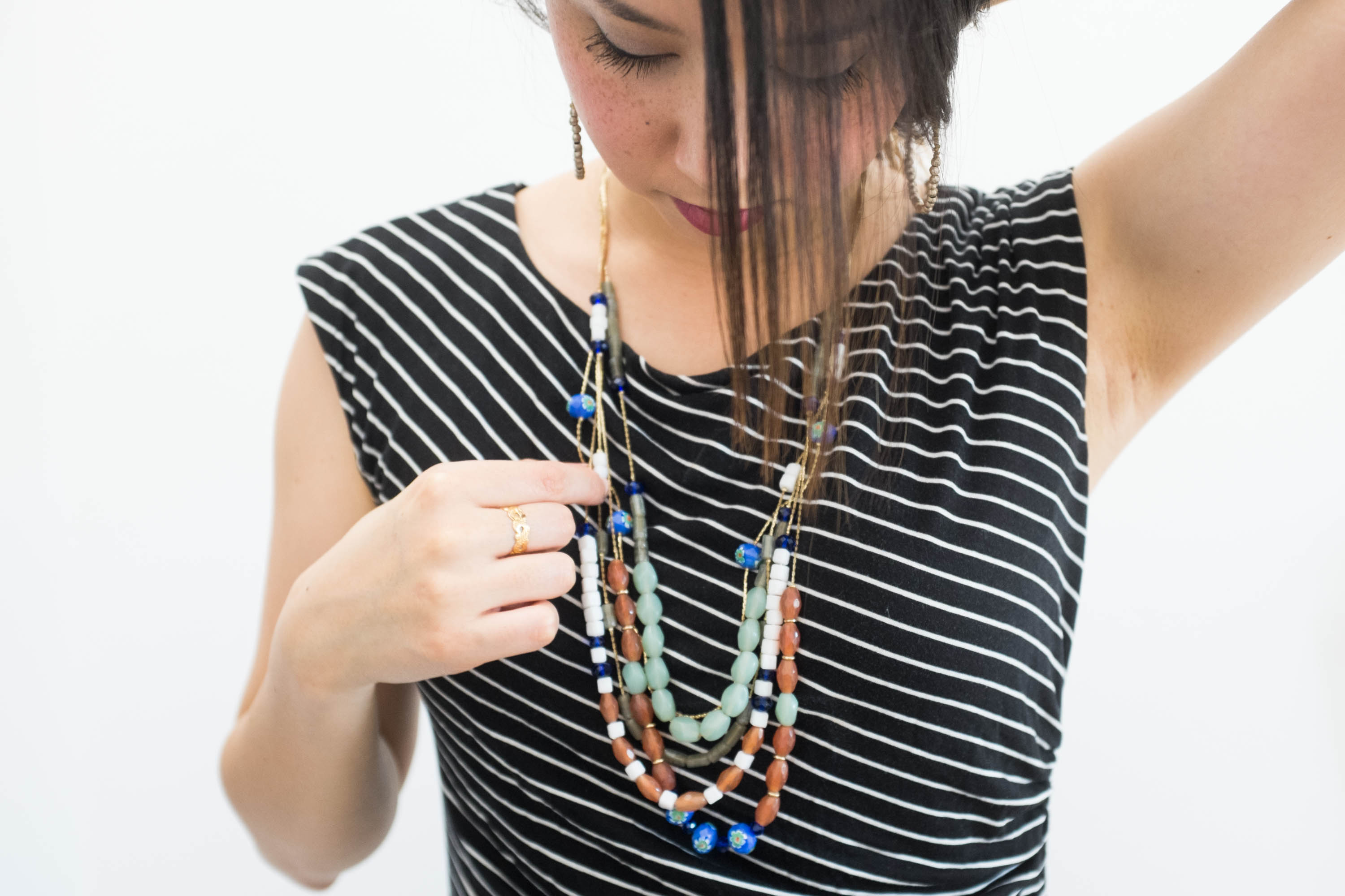 Capsule Accessory Series: 5 Powers of a Statement Necklace