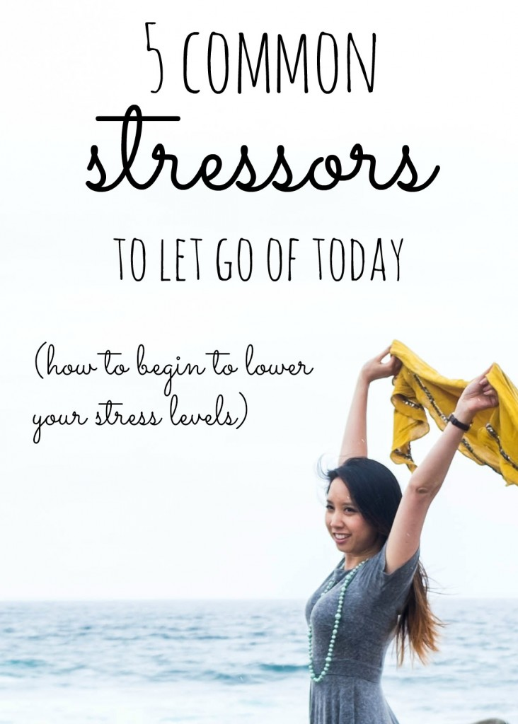 5 common stressors to let go of today- and begin to lower your stress levels